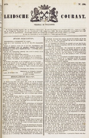 Leydse Courant 1876-12-15