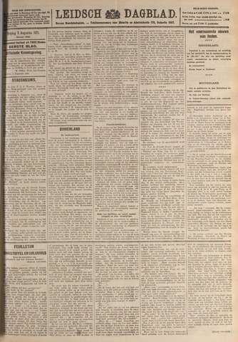Leidsch Dagblad 1921-08-05