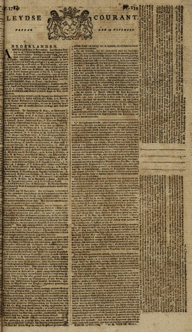 Leydse Courant 1784-11-19