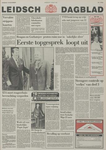 Leidsch Dagblad 1985-11-19