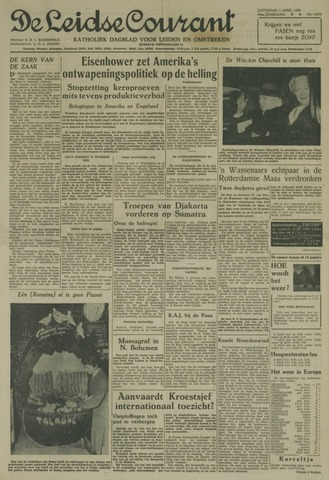 Leidse Courant 1958-04-05