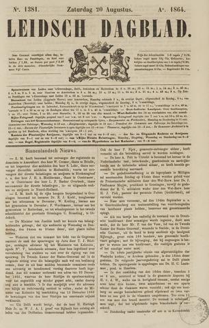 Leidsch Dagblad 1864-08-20