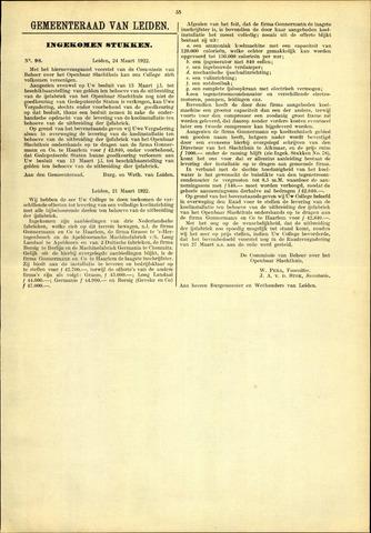 Handelingen van de Raad 1922-03-24