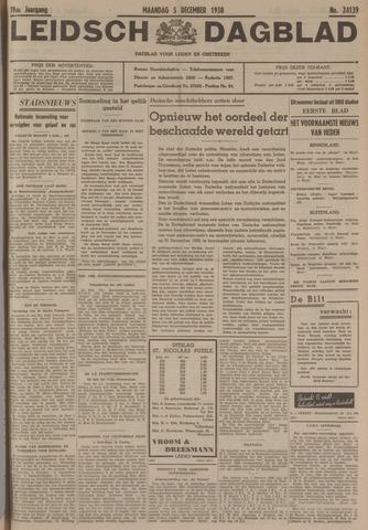 Leidsch Dagblad 1938-12-05