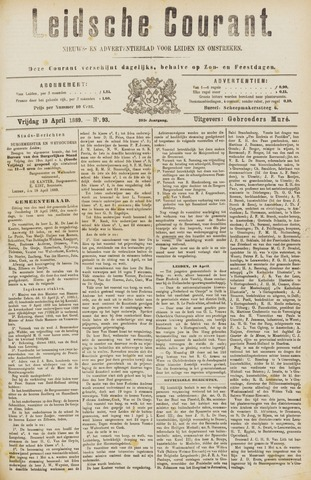 Leydse Courant 1889-04-19