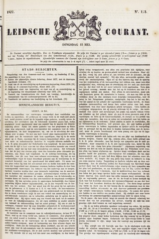 Leydse Courant 1877-05-15