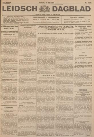 Leidsch Dagblad 1930-05-20