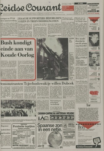 Leidse Courant 1989-11-23