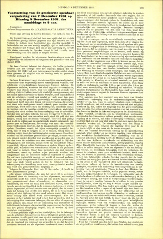 Handelingen van de Raad 1931-12-08