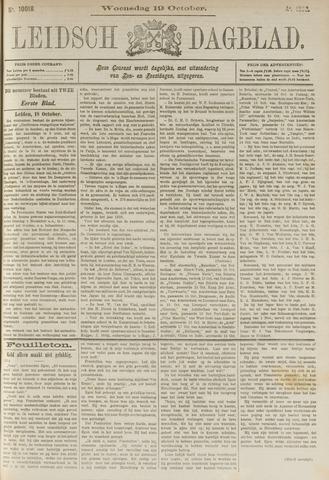 Leidsch Dagblad 1892-10-19