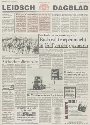 Leidsch Dagblad 1990-08-16