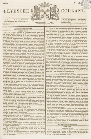 Leydse Courant 1860-04-04