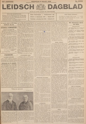 Leidsch Dagblad 1928-03-21