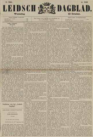 Leidsch Dagblad 1869-10-13