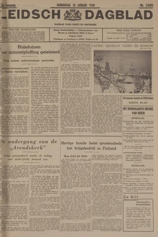 Leidsch Dagblad 1940-01-18