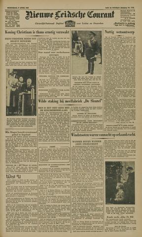 Nieuwe Leidsche Courant 1947-04-09
