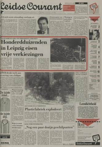 Leidse Courant 1989-10-24