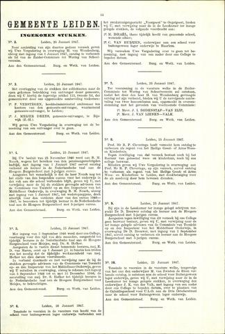 Handelingen van de Raad 1947-01-25