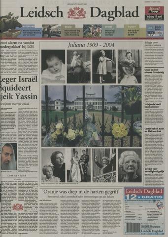 Leidsch Dagblad 2004-03-22