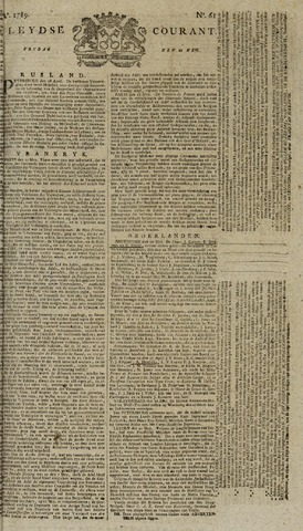 Leydse Courant 1789-05-22