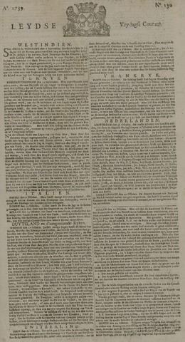 Leydse Courant 1739-10-30