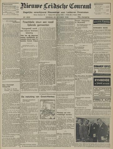 Nieuwe Leidsche Courant 1938-10-25