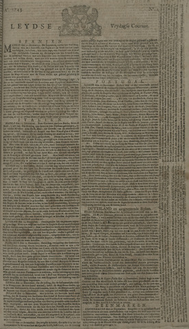Leydse Courant 1743-01-04