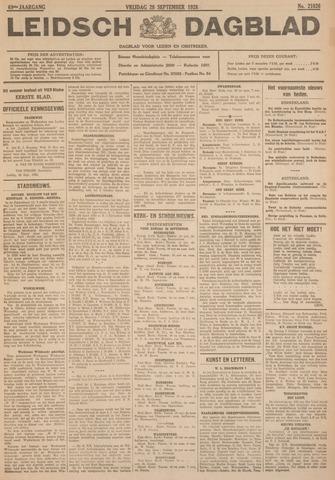 Leidsch Dagblad 1928-09-28