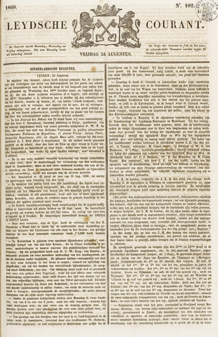 Leydse Courant 1860-08-24