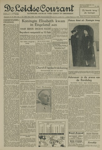 Leidse Courant 1952-02-08