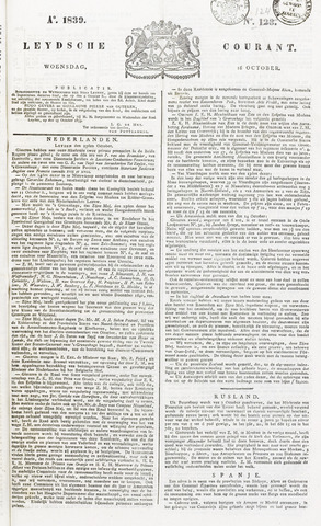 Leydse Courant 1839-10-16