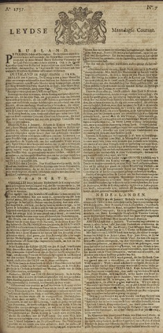 Leydse Courant 1757-01-17