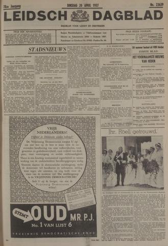 Leidsch Dagblad 1937-04-20