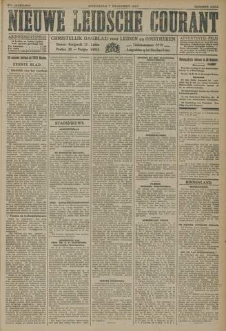 Nieuwe Leidsche Courant 1927-12-07