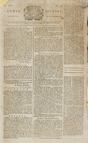 Leydse Courant 1817-12-31