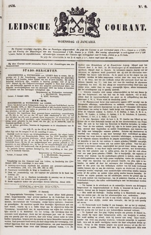 Leydse Courant 1876-01-12
