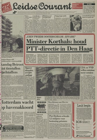 Leidse Courant 1984-09-21
