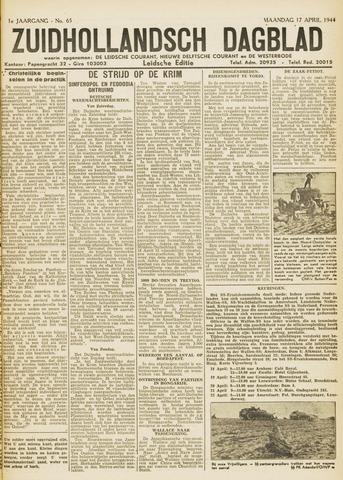 Zuidhollandsch Dagblad 1944-04-17