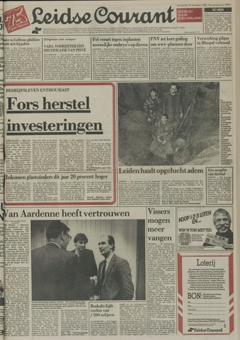 Leidse Courant 1984-12-20