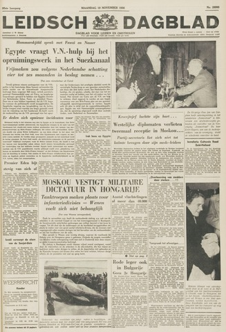 Leidsch Dagblad 1956-11-19