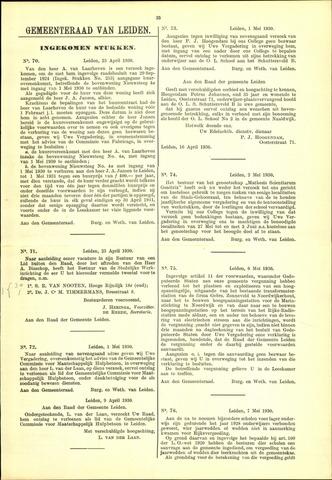 Handelingen van de Raad 1930-04-23
