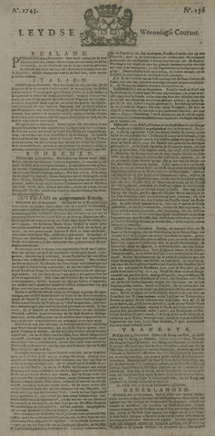Leydse Courant 1745-12-29