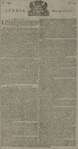 Leydse Courant 1734-11-01