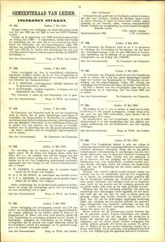 Handelingen van de Raad 1901-05-07