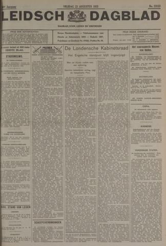 Leidsch Dagblad 1935-08-23