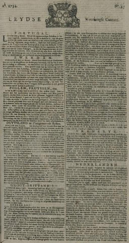 Leydse Courant 1734-04-14