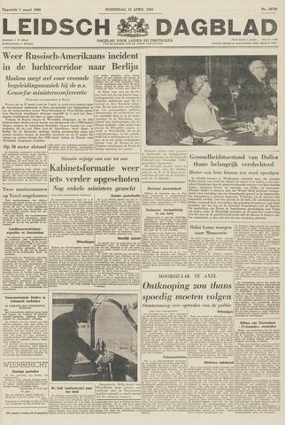 Leidsch Dagblad 1959-04-15