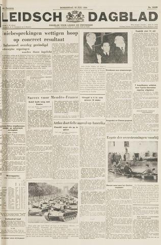 Leidsch Dagblad 1954-07-15