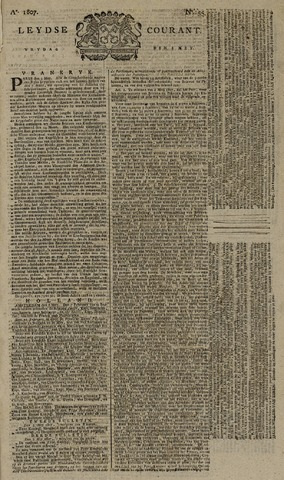 Leydse Courant 1807-05-08