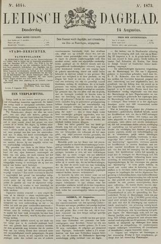 Leidsch Dagblad 1873-08-14